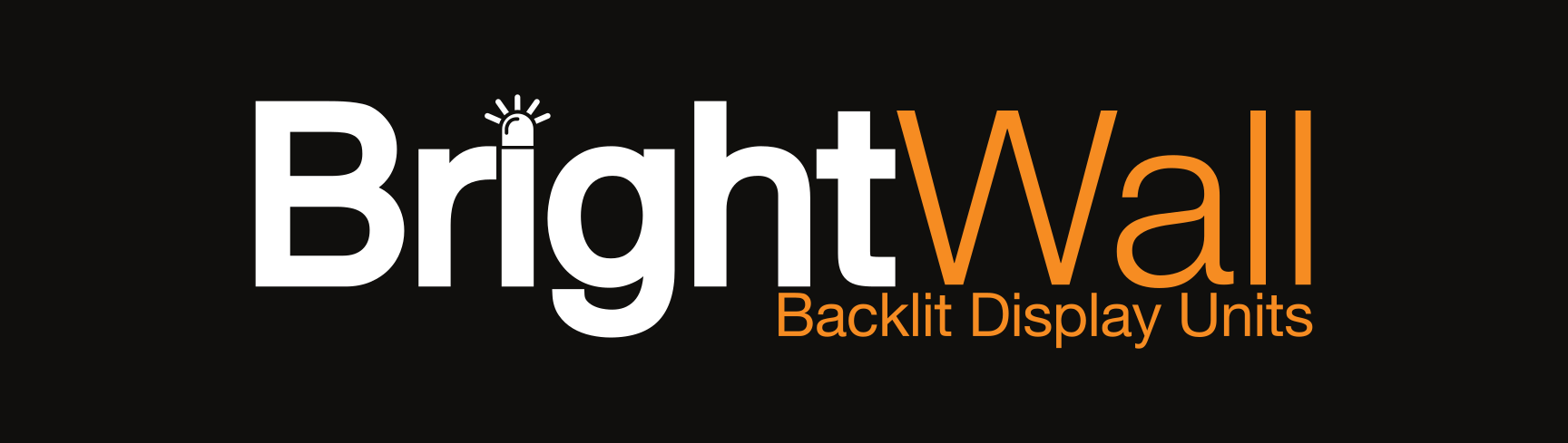 BrightWall Backlit Solutions Logo